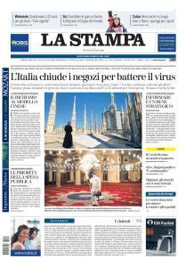 La Stampa Torino Provincia e Canavese - 12 Marzo 2020