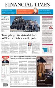 Financial Times Europe - October 9, 2020