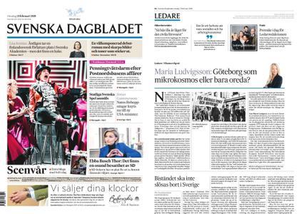 Svenska Dagbladet – 13 februari 2019