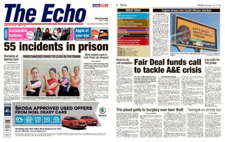 Evening Echo – April 17, 2019