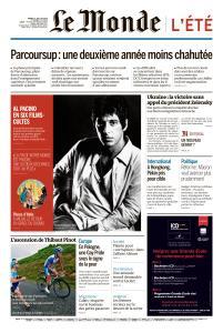 Le Monde du Mardi 23 Juillet 2019
