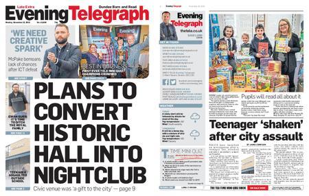 Evening Telegraph First Edition – November 25, 2019