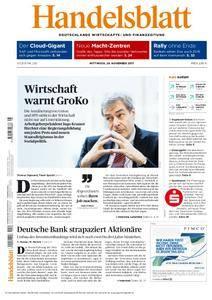 Handelsblatt - 29. November 2017