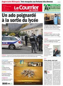 Le Courrier de l'Ouest Angers – 14 novembre 2020