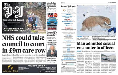 The Press and Journal Moray – February 19, 2020