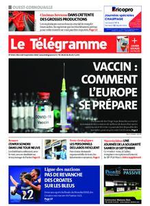Le Télégramme Ouest Cornouaille – 09 septembre 2020