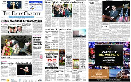The Daily Gazette – October 27, 2017