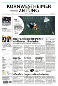 Kornwestheimer Zeitung - 24. Juli 2019