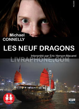 """M.Connelly, """"Les Neuf Dragons"""" / 1CD MP3"""