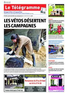 Le Télégramme Brest Abers Iroise – 19 août 2019
