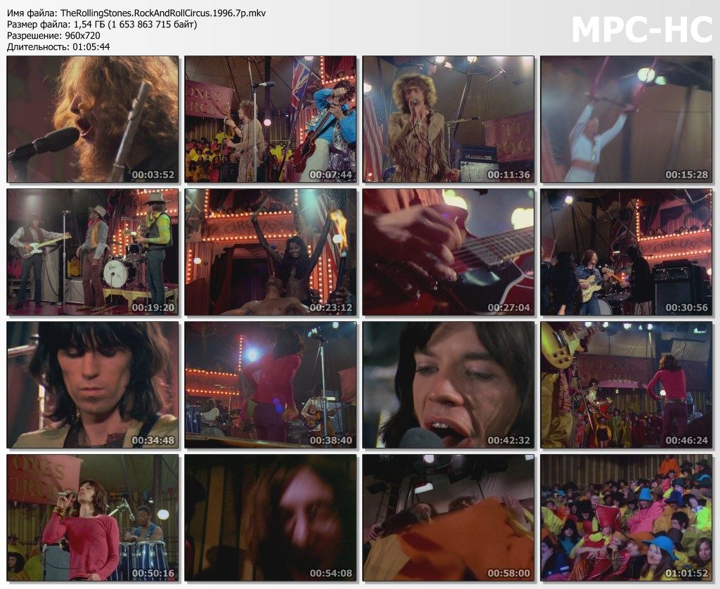 The Rolling Stones Rock and Roll Circus (1968)