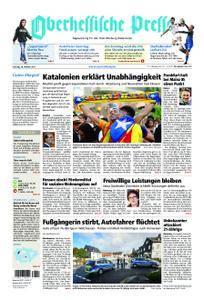 Oberhessische Presse Marburg/Ostkreis - 28. Oktober 2017