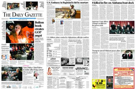 The Daily Gazette – January 28, 2020