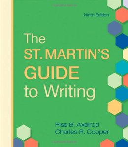 The St. Martin's Guide to Writing, Ninth Edition (repost)