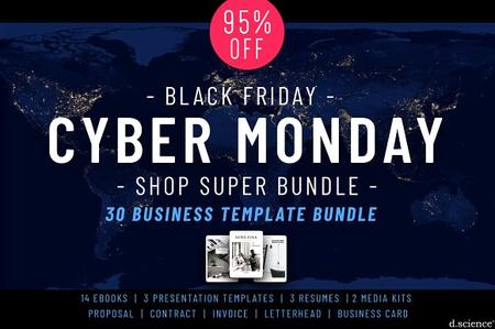 CreativeMarket - Cyber Monday Shop Deal!