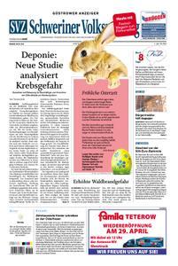 Schweriner Volkszeitung Güstrower Anzeiger - 20. April 2019