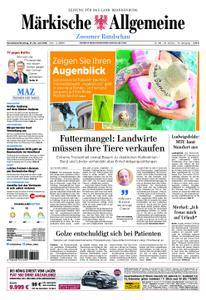 Märkische Allgemeine Zossener Rundschau - 21. Juli 2018