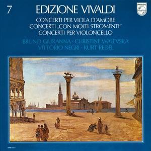 """Vivaldi - Concerti Per Viola D'Amore / Con Molti Stromenti"""" / Violoncello (1978) [4LP Box Set, Vinyl Rip 16/44 & mp3-320 + DVD]"""