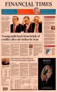 Financial Times Europe – 09 January 2020