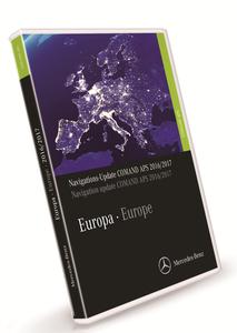 Mercedes Benz Navigations DVD COMMAND APS 2018-2019 Europe NTG1 V19 Multilingual