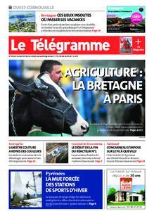 Le Télégramme Ouest Cornouaille – 22 février 2020