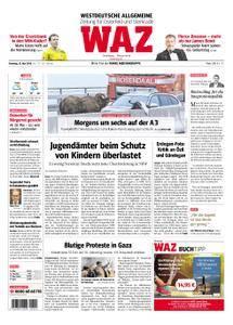 WAZ Westdeutsche Allgemeine Zeitung Oberhausen-Sterkrade - 15. Mai 2018