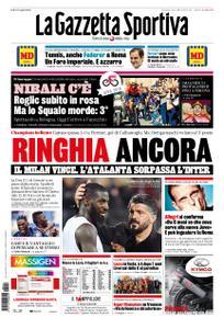 La Gazzetta dello Sport Roma – 12 maggio 2019