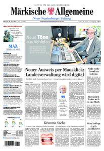 Neue Oranienburger Zeitung - 25. April 2018