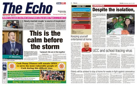 Evening Echo – March 18, 2020