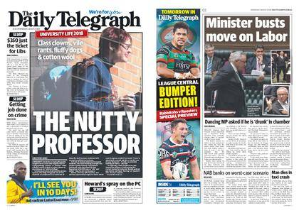 The Daily Telegraph (Sydney) – August 08, 2018