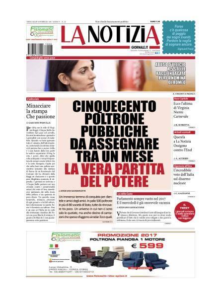 La Notizia - 8 Febbraio 2017