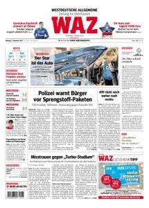 WAZ Westdeutsche Allgemeine Zeitung Oberhausen-Sterkrade - 04. Dezember 2017