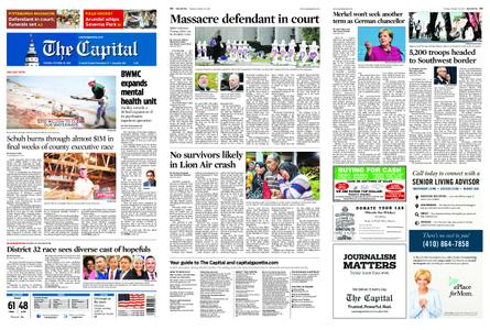 The Capital – October 30, 2018