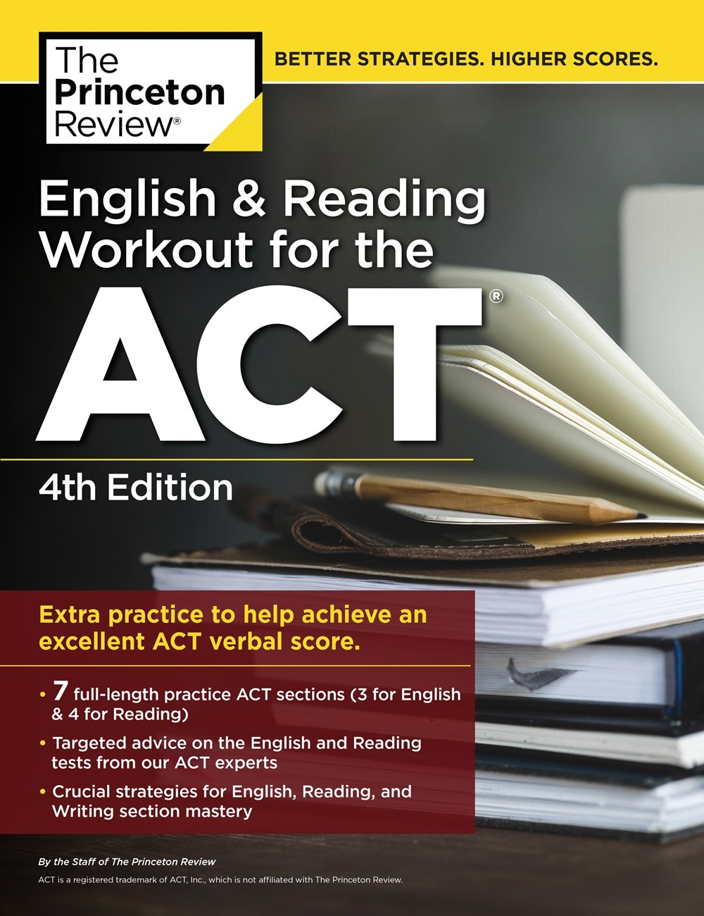 English and Reading Workout for the ACT: Extra Practice for an Excellent Score (College Test Preparation), 4th Edition