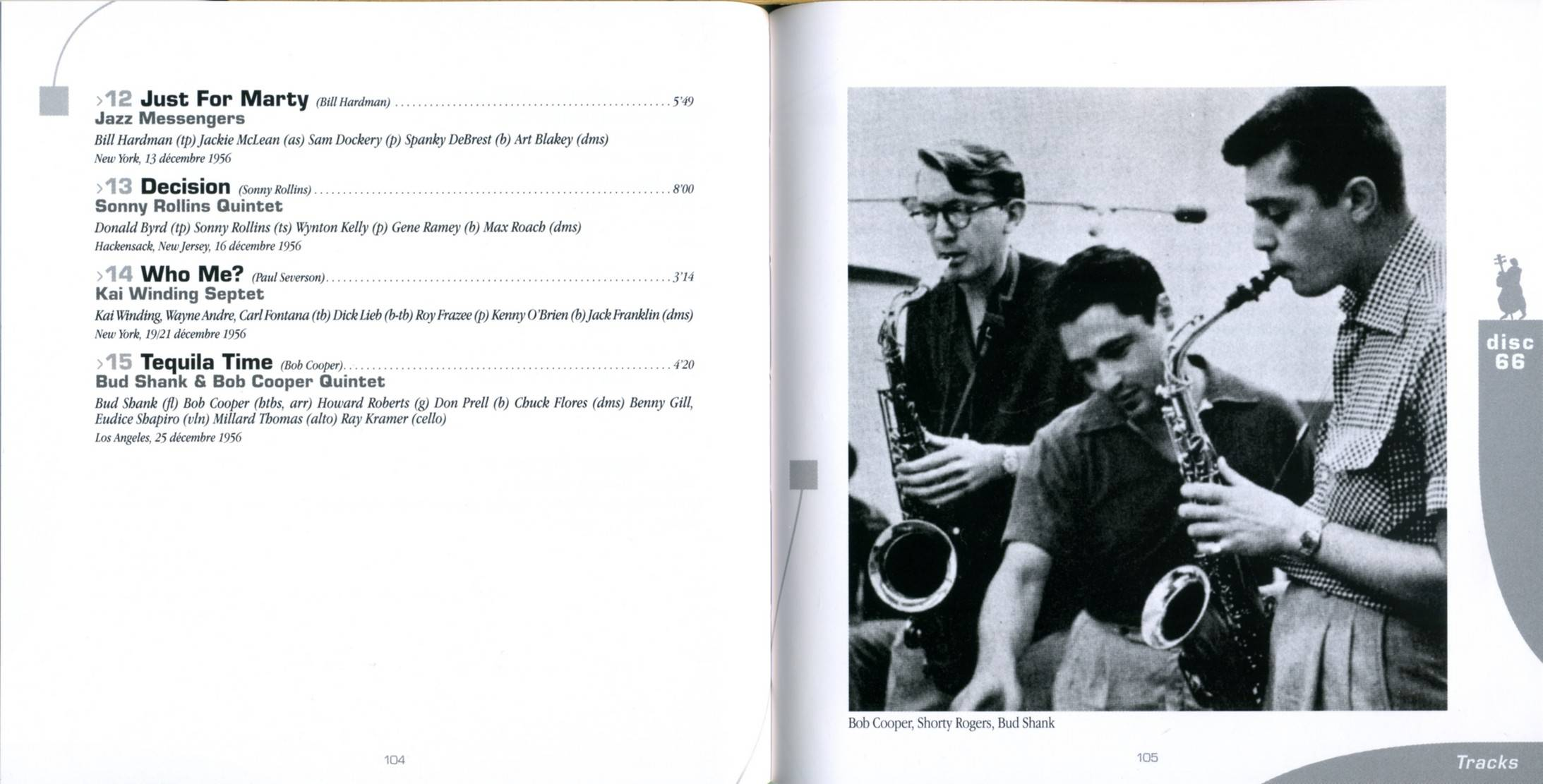 Various Artists - From Hard Bop To Cool (1955-1957) - La Grande Histoire Du Jazz Vol. 3 (2010) {Box 25CD - 75 of 100}