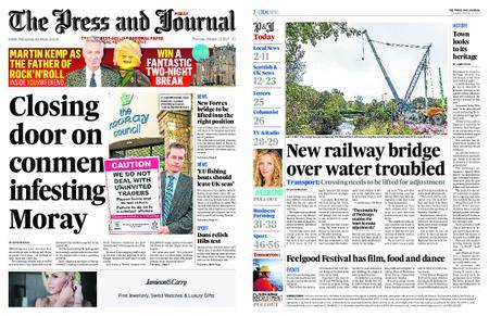 The Press and Journal Moray – October 12, 2017
