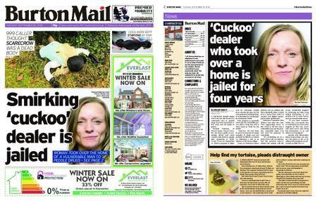 Burton Mail – September 18, 2018