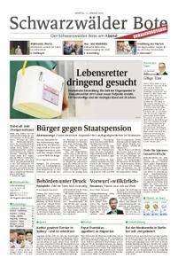 Schwarzwälder Bote Oberndorf - 15. Januar 2018