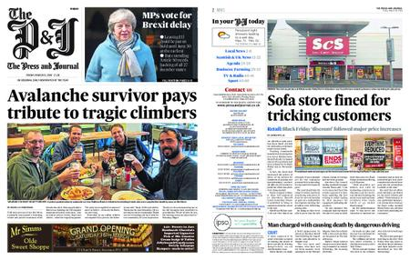 The Press and Journal Moray – March 15, 2019