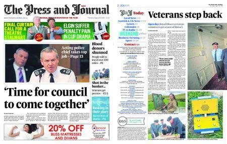 The Press and Journal Moray – August 16, 2018