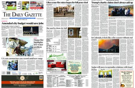 The Daily Gazette – October 24, 2020