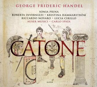 Carlo Ipata, Auser Musici - Handel: Catone (2017)