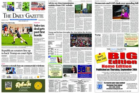 The Daily Gazette – September 22, 2020