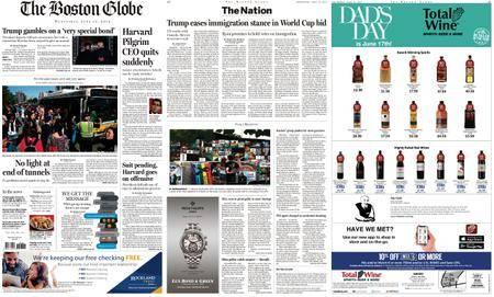 The Boston Globe – June 13, 2018