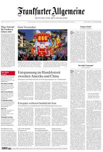 Frankfurter Allgemeine Zeitung F.A.Z. - 15. Januar 2020