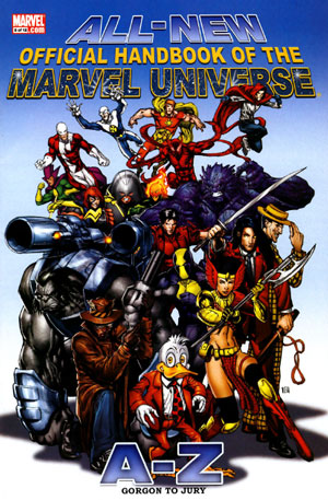 All New Official Handbook Of The Marvel Universe A to Z Vol.1 No.5 Jul 2006