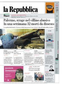 la Repubblica - 5 Novembre 2018