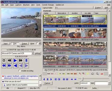 ScenalyzerLive ver. 4.0.0.20051228
