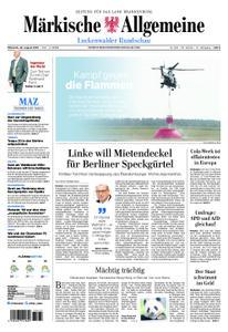 Märkische Allgemeine Luckenwalder Rundschau - 28. August 2019