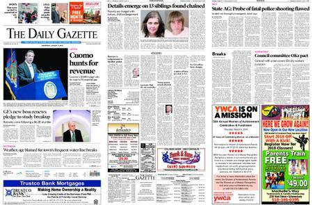 The Daily Gazette – January 17, 2018